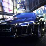 ファイナルファンタジーVXから飛び出した世界で1台のみのR8|Audi