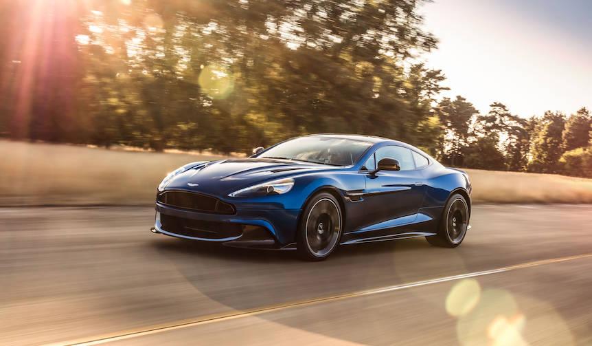 600psを誇るヴァンキッシュSを発表 Aston Martin