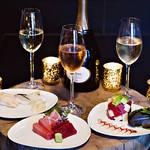 ルイナールがアンダーズ東京「寿司とシャンパンのガラ ラウンジメニュー」で提供|Ruinart