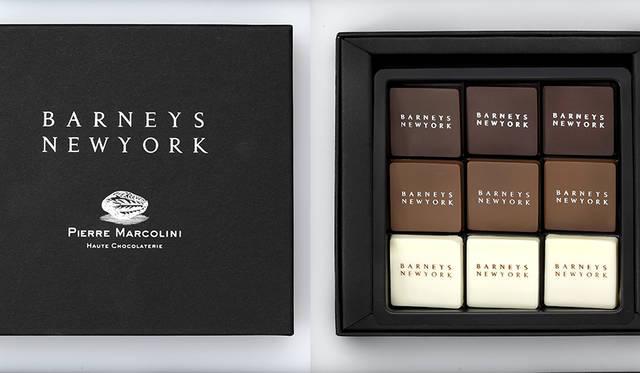 バーニーズ ニューヨークのために開発した限定チョコレート|BARNEYS NEW YORK