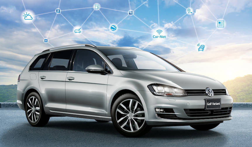 ゴルフ、ゴルフ ヴァリアントにコネクティビティ機能を強化した特別仕様車 Volkswagen