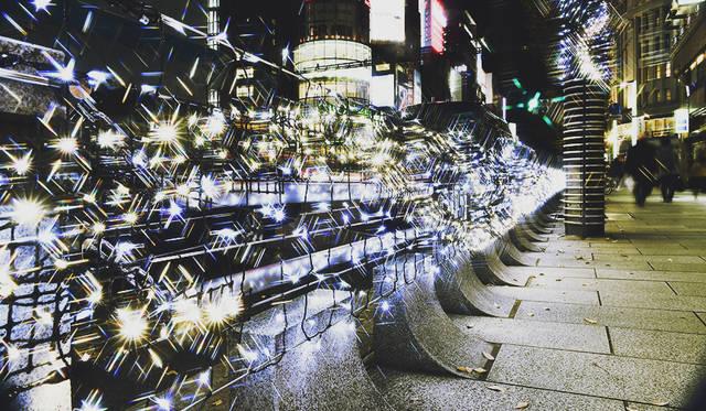 ギンザの街並みを照らす東北復興⽀援「ヒカリミチ~光の庭園~」が開催|EVENT