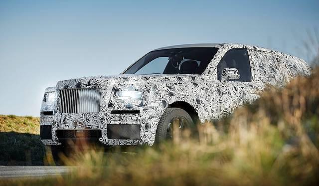 ロールスのSUV、世界各地でのテストへ|Rolls-Royce