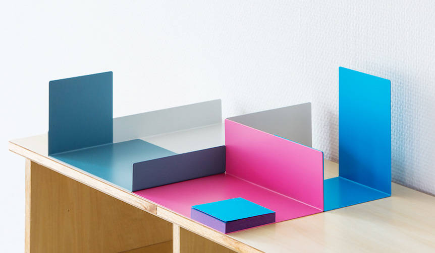デスク上の整理整頓を色と形で楽しむ「COLOR OBJECT」|Perrocaliente