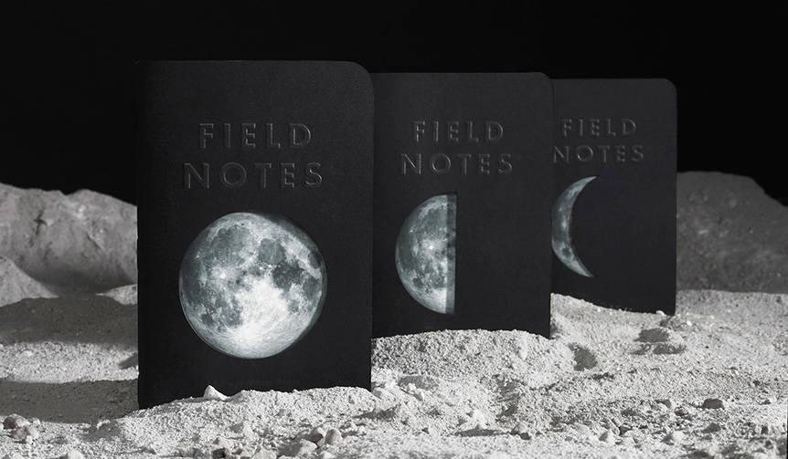 ブランド32番目の限定エディションが発売。テーマは「月」 FIELD NOTES