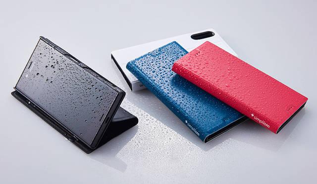 Xperiaをお風呂に!? 耐水素材を使用した薄型フリップケース|Simplism