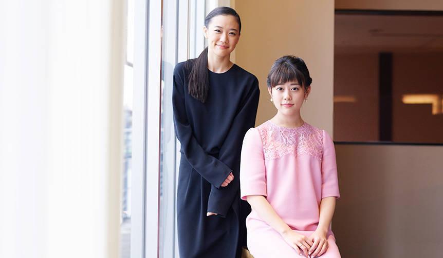 INTERVIEW|蒼井優×高畑充希が語る『アズミ・ハルコは行方不明』