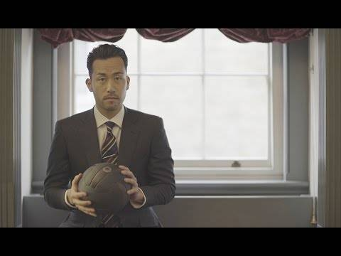 """DUNHILL「MADE TO MATCH」艶やかな紳士 吉田麻也選手をロンドンにて"""