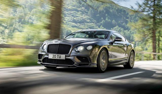 最速の4座ベントレー「コンチネンタル スーパースポーツ」発表 Bentley