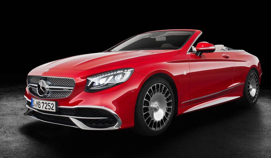 世界限定300台のマイバッハ オープンモデル Mercedes-Maybach