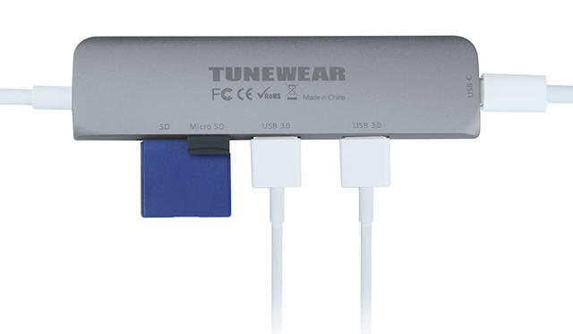 最先端の高性能チップを採用しながらも、重量はわずか44グラム|TUNEWEAR