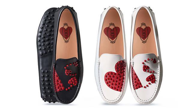 真っ赤なハートに心ときめくトッズのバレンタインコレクション|TOD'S