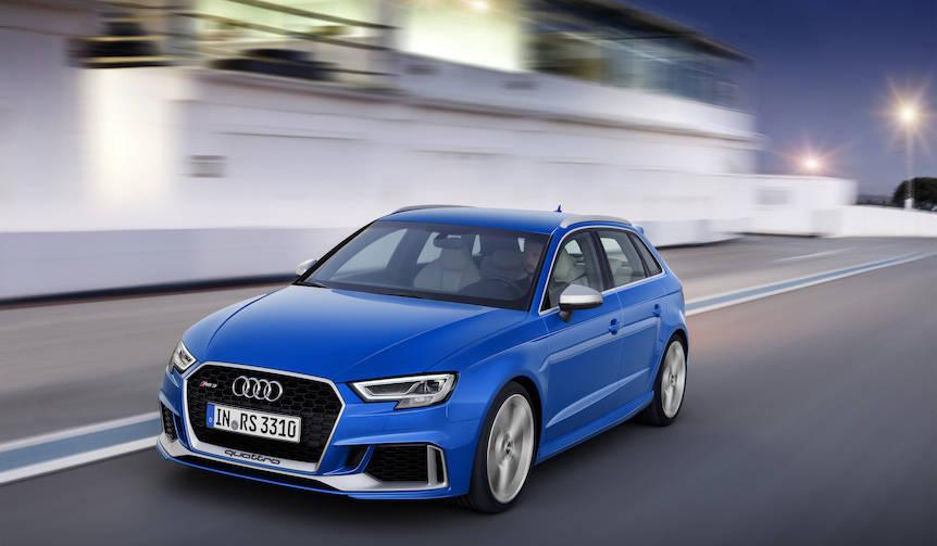 新型アウディRS3スポーツバックがパワーアップして登場|Audi