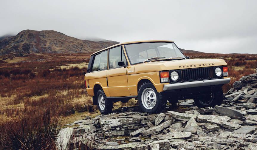 1978年製のクラシック レンジローバーを完全レストア|Land Rover
