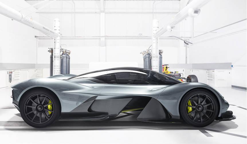 アストンマーティン「AM-RB 001」の主要テクニカルパートナーを発表|Aston Martin