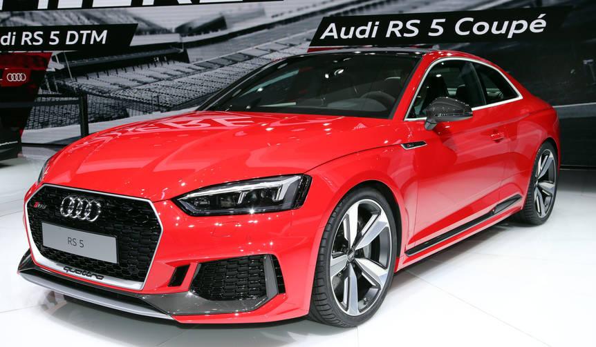 新型RS 5クーペをジュネーブショーで披露|Audi