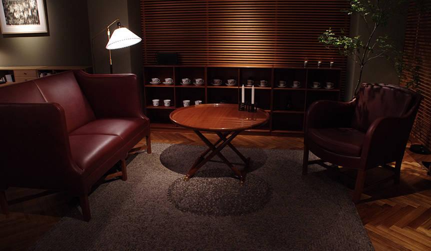 デンマーク最古の家具工房「ルド・ラスムッセン」最後の展示販売会|DESIGN