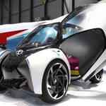 3人乗りの小型EVコンセプトモデル「i-TRIL」をジュネーブでワールドプレミア|Toyota