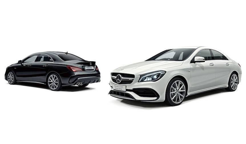 メルセデスAMG CLA45に装備を簡略化した特別仕様車|Mercedes-AMG