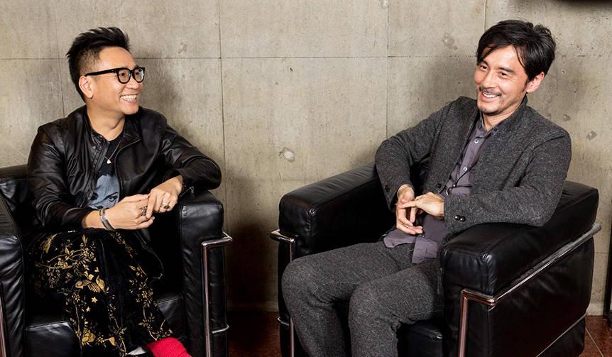 米山庸二×八嶋智人 特別対談「音楽と演劇とジュエリーと」|M・A・R・S