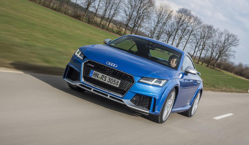 3代目TTのハイパフォーマンスモデル「TTRS」に試乗|Audi