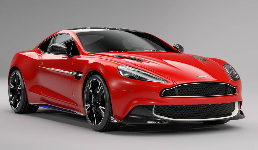 英空軍アクロバットチームにちなんだヴァンキッシュS|Aston Martin