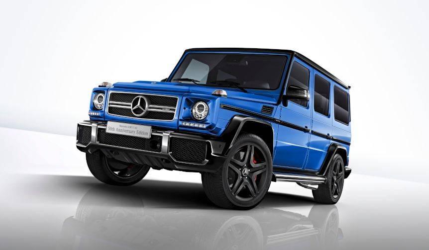 メルセデスAMG G 63にAMG創立50周年の特別仕様車|Mercedes-AMG