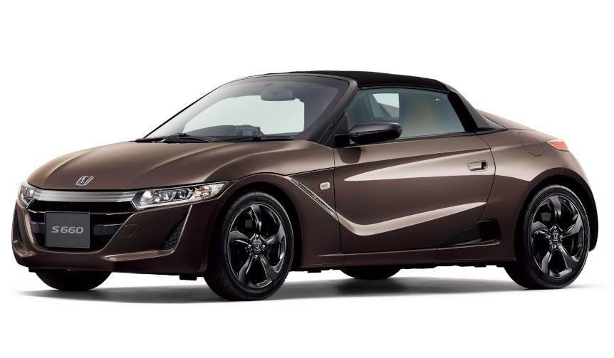 軽ミッドシップスポーツ「S660」にシックな内装の特別仕様車|Honda