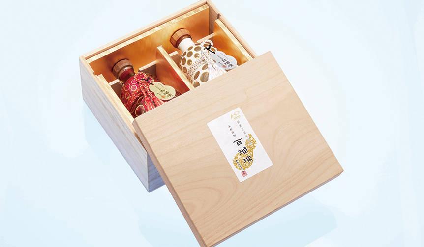 創業100周年を記念して作られた焼酎の逸品「百瑠璃」 霧島酒造