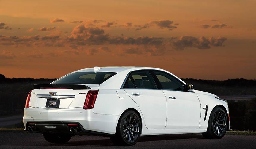 CTS-Vに国内4台限定の特別限定モデル Cadillac