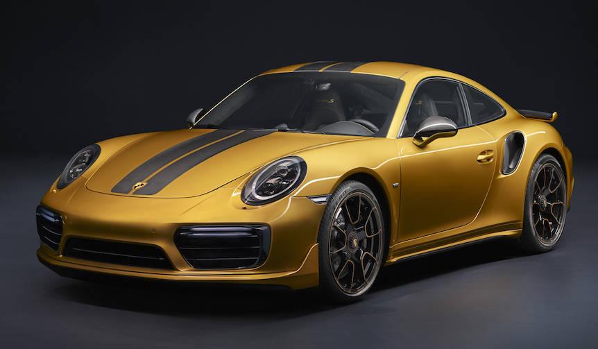 911ターボSに世界500台限定の「エクスクルーシブ」|Porsche