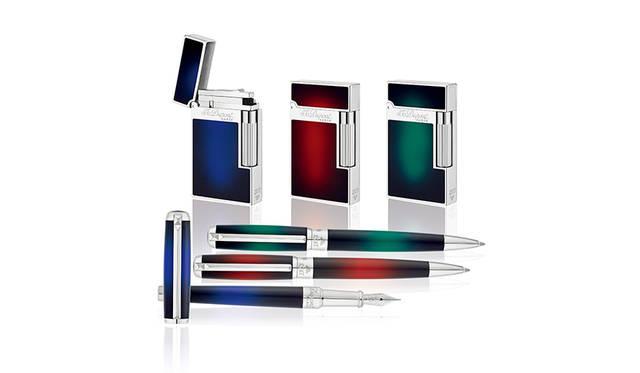 漆の光沢が美しい「アトリエ サンバースト コレクション」|S.T. Dupont