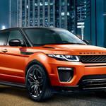 ジャイアンツカラーのイヴォーク特別仕様車|Range Rover