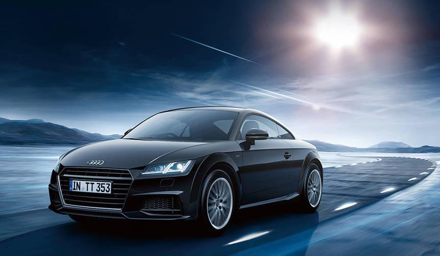 Sラインパッケージを装着したスポーティなTTの限定モデル|Audi