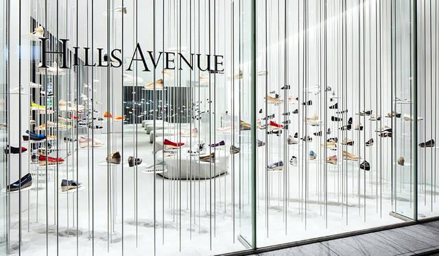 吉岡徳仁が手掛けた「Hills Avenue Flagship Store」|DESIGN