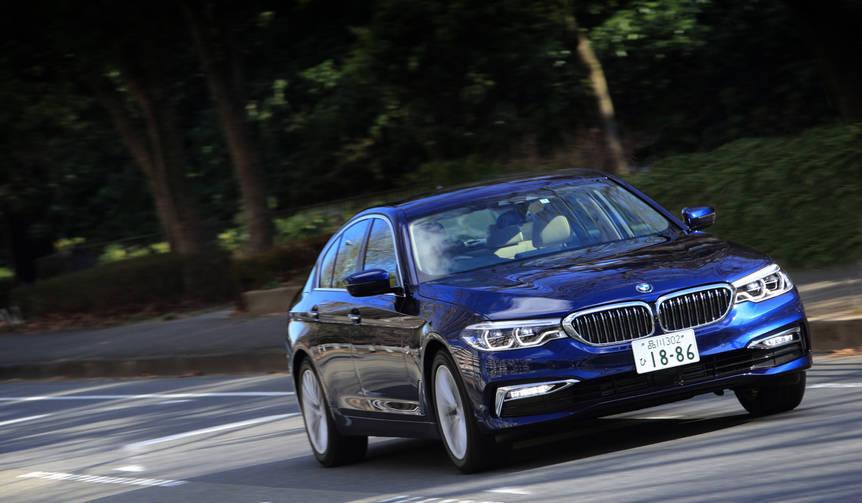 新型BMW5シリーズ セダンに試乗|BMW
