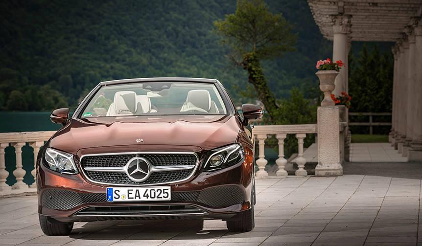 新型メルセデス・ベンツ「Eクラス カブリオレ」に試乗|Mercedes-Benz