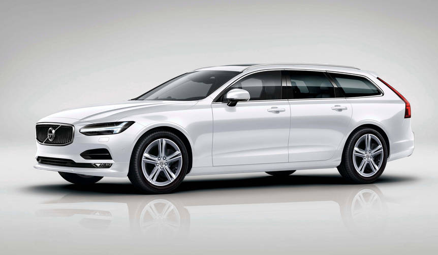 ボルボV90に創業90周年記念の特別限定車|Volvo