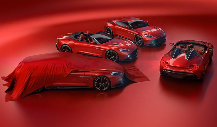 「ヴァンキッシュ ザガート」にスピードスターとシューティングブレークを追加|Aston Martin