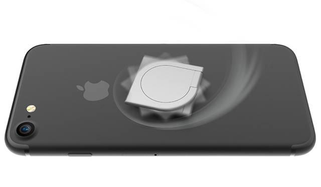 スマートフォンがハンドスピナーに! モバイルリング「iSpin」|ABSOLUTE technology