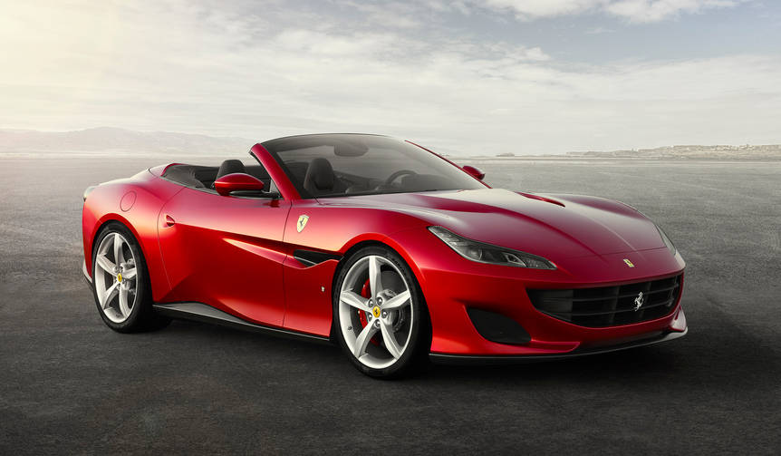 フェラーリが新型オープンモデル「ポルトフィーノ」を発表|Ferrari