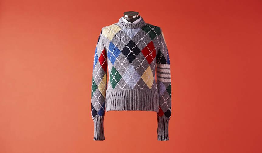 vol.3 「艶やかに、丸首セーター!」 THOM BROWNE|トム ブラウン