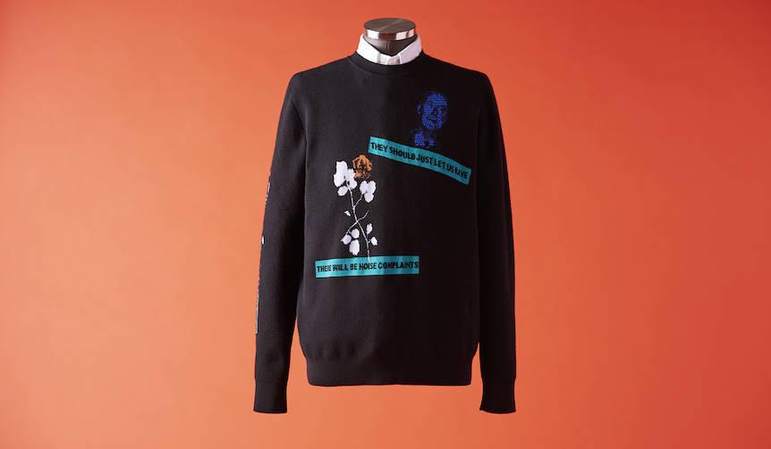 vol.3 「艶やかに、丸首セーター!」 DIOR HOMME|ディオール オム