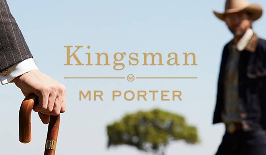 ミスターポーターが再び限定カプセルコレクション「キングスマン」発売へ|MR PORTER