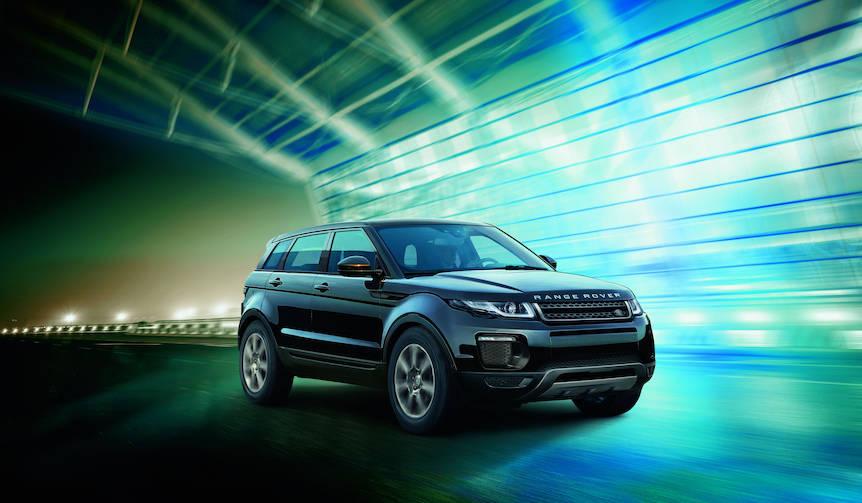 イヴォークにドライバーアシスタンス充実の特別仕様車 Land Rover