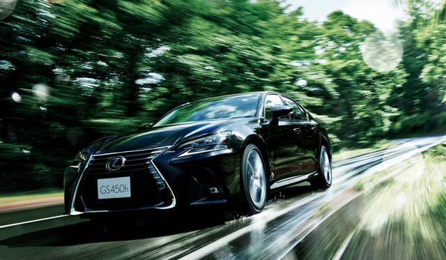 レクサスGS、GS Fを仕様変更|Lexus