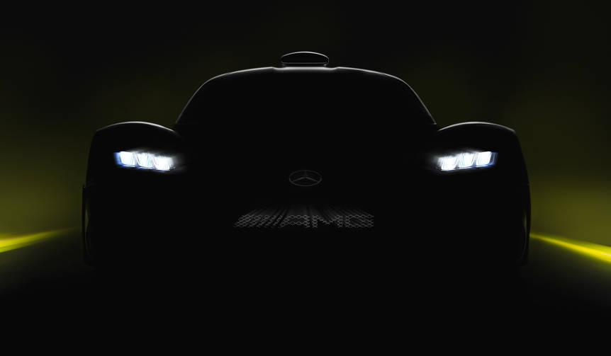 メルセデスAMG、新しいモデルの登場を予告|Mercedes-AMG