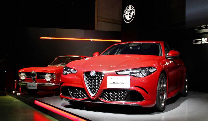 アルファロメオ ジュリア日本上陸 Alfa Romeo