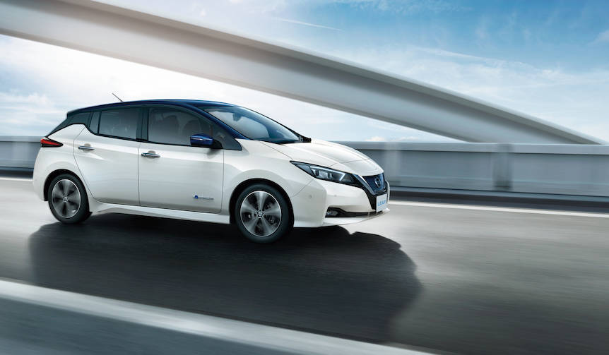 リーフが初のフルモデルチェンジ|Nissan