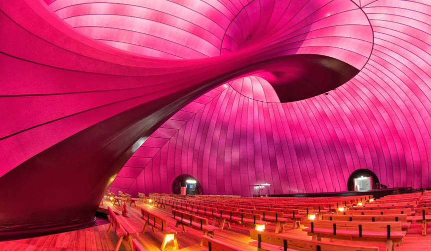 移動式コンサートホール「アーク・ノヴァ」にて各種イベントを開催|EVENT